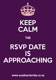 Purple Wedding Meme - keep calm the rsvp date is approaching meme southern bride
