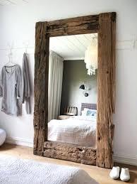 miroir de chambre sur pied miroire chambre miroir autoportant en pied blanc design dans la