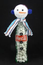 coca cola christmas cupcakes diy coke bottle christmas characters