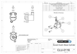 ducati clutch slave cylinders