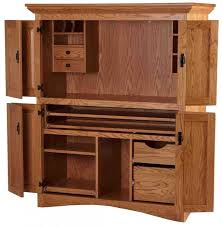 Computer Desk With Doors Table Design Sauder Armoire Computer Desk Office Desk Armoire