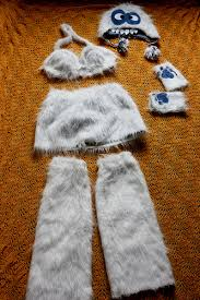 abominable snowman costume byov bring your own vegetables a merry yeti costume