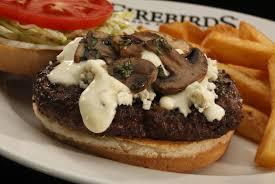 bleu cheese burger firebirds wood fired grill let u0027s eat