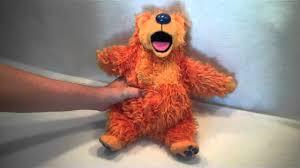 1999 disney bear in the big blue house talking bear plush toy by
