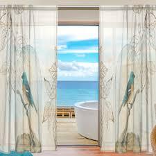 Wohnzimmer T Vogel Vorhänge Baum Voile Vorhänge Schlafzimmer Gardinen Für