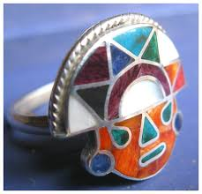 spiritual jewelry spiritual jewelry silver ring stones shaman sun tumi discovered