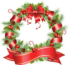 beautiful round christmas png photo frame christmas time is