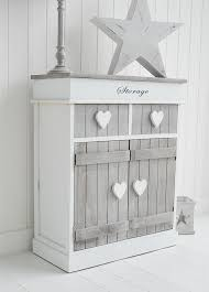grey and white hall furniture heart cottage heart hallway