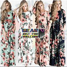 amazing floral printed long sleeve women u0027s evening party wear