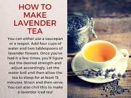 lavender tea cup of lavender tea it s got 8 benefits