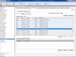 Employee Vacation Accrual Spreadsheet Manage Accruals In Staff Files Personnel Software