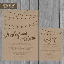 Invitation Paper Kraft Paper Wedding Invitations Kraft Paper Wedding Invitations To
