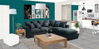 canap bleu gris decoration salon bleu gris 100 images un salon en gris et blanc