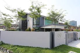 Modern Home Design Malaysia Corner Terrace Designed By Its Owner Into A Modern Contemporary Abode