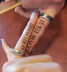 Wedding Ring Finger by The 25 Best Couples Finger Tattoos Ideas On Pinterest Finger