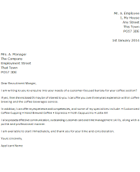 barista job application cover letter example forums learnist org