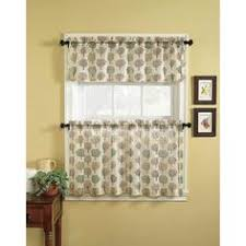 Overstock Kitchen Curtains by Lorraine Home Fashions Salem 60 Inch X 36 Inch Tier Curtain Pair
