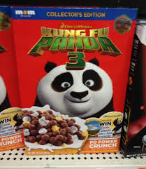 spooned u0026 spotted kung fu panda 3 po power crunch cereal