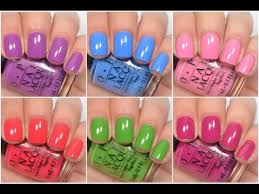 opi new orleans spring summer 2016 swatch and review youtube