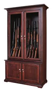 best place to buy gun cabinets amish traditional solid wood gun cabinet 12 gun capacity