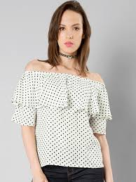 polkadot top women polka dot tops buy women polka dot tops online in india
