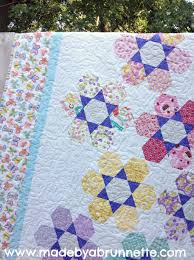 quilts made by a brunnette