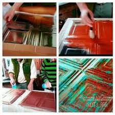 Spray Paint Ceiling Tiles by Paint Your Own Tin Ceiling Tiles Tile Ceiling Tiles And Tins