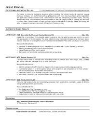 resumes for sales executives auto sales resume sample car sales resumes used car sales manager