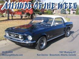 Black 1967 Mustang Fastback 1967 Gt Options Package