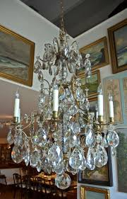 Chandeliers For Sale Uk by Rococo Style Swedish Crystal Chandelier With 16 Lights Circa 1910