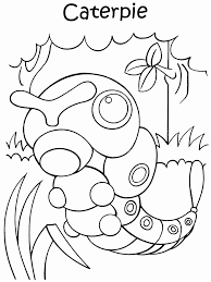 caterpie coloring pages getcoloringpages