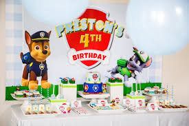 paw patrol candy table ideas kara s party ideas chic paw patrol birthday party kara s party ideas
