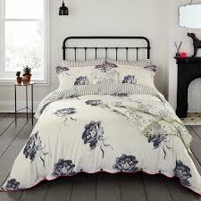 joules monochrome regency floral bedding in creme at bedeck 1951