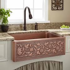 Farm Sink Kitchen Furniture Country Farm Sinks Beautiful 30 Vine Design Copper