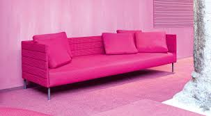 sofa pink pink patio sofa from luminaire