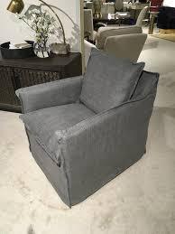 slipcovered swivel chair c1897 01sw slipcovered swivel chair in fabric farrow metal