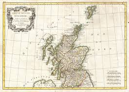 Map Scotland File 1772 Bonne Map Of Scotland Geographicus Scotland Bonne
