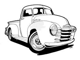 cars chevy truck coloring pages provide pictures