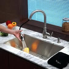 moen kitchen faucet with soap dispenser brushed nickel kitchen sink faucet soap dispenser