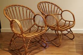 bamboo rattan chairs