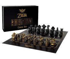 Cool Chess Set Official Legend Of Zelda Chess Set Released