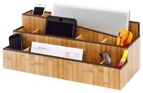 Modern Desk Organizer One Stop Charging Station Transitional Charging Stations By
