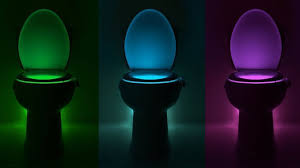 amazon com body sensing automatic led motion sensor toilet