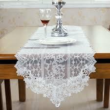 lace table runners wedding fashion european style white lace table runner wedding white table