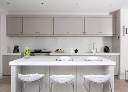 Neutral Colored Kitchens - kitchen cabinet ideas for a modern classic look