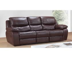 Leather Recliner Sofa Sale Prosper Leather Reclining Sofa Brown Quarter S3net Sectional