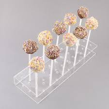 cake pop stands lolly pop stands acrylic perspex display equipment and
