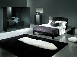 vorschläge für wandgestaltung schwarze möbel und wandgestaltung im luxus schlafzimmer 30