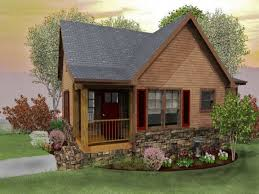 House Plans For Small Cabins Plain Small Country Cottage House Plans Home I Like The Elevation