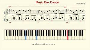 box frank mills how to play piano frank mills box dancer piano tutorial